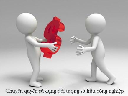 Chuyen quyen su dung doi tuong so huu cong nghiep