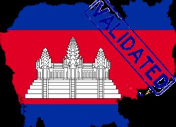 Validation of European Patent in Cambodia